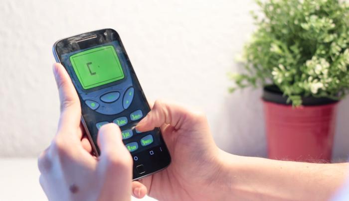 Snake, el auténtico juego arcade del Nokia 3310 en Android